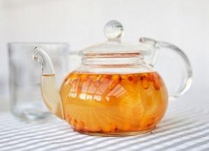 приготовление чая из облепихи