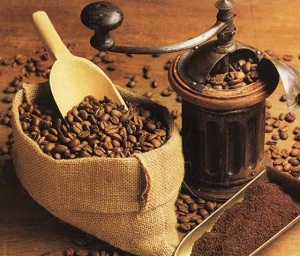 содержание кофеина в жареных зернах