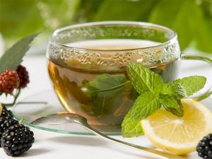 Мятный чай с имбирем