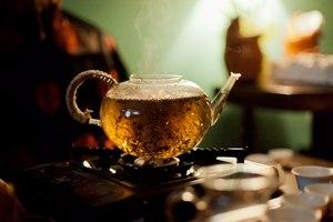 Варка чая пуэр