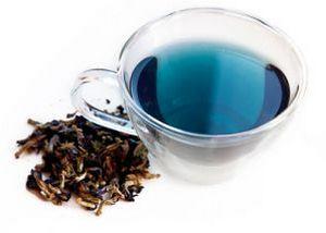 Синий чай. Загадочный бирюзовый напиток из тропического Таиланда