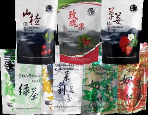 Чай торговой марки черный дракон
