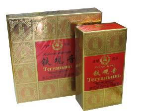 Чай Тегуанинь марки черный дракон