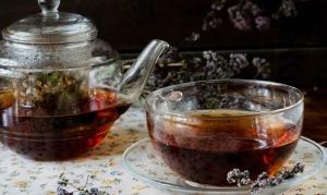 Полезный чай с душицей