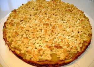 Технология готовки тертого пирога