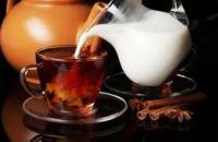 Чай с молоком особенности