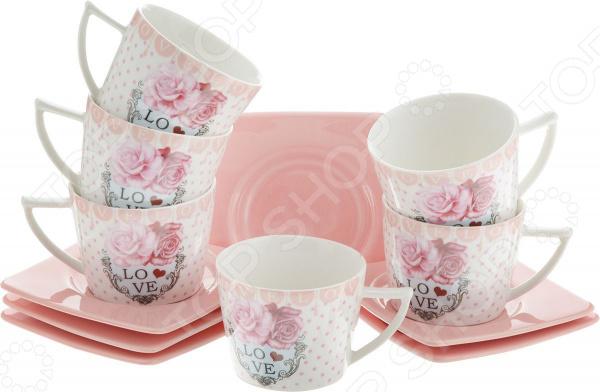 Кофейный набор Loraine «Розы»