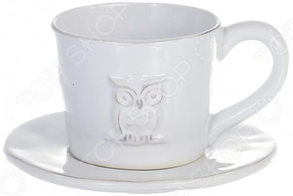 Кофейный набор Elrington «Совы» DC-RY13286W-2