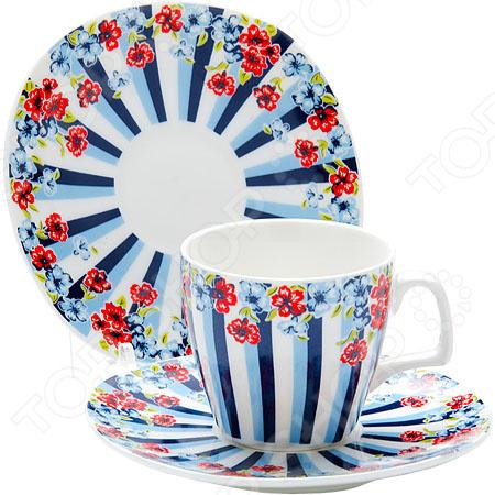 Кофейный набор Loraine LR-24754 «Цветок»
