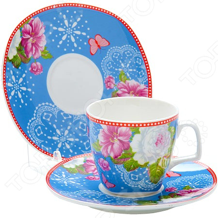 Кофейный набор Loraine LR-24757 «Розы»
