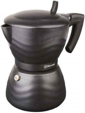 Кофеварка гейзерная Rondell Walzer 6 порций алюминий RDA-432