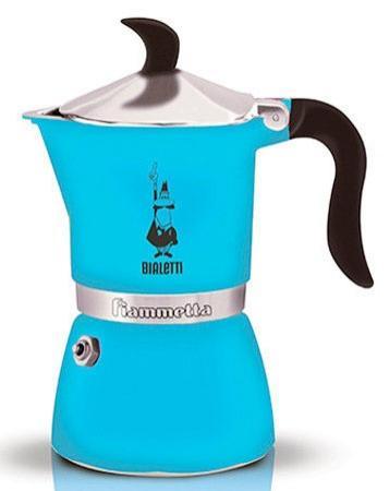 Кофеварка гейзерная Bialetti Fiametta 3 порции алюминий 4632