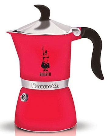 Кофеварка гейзерная Bialetti Fiametta 3 порции алюминий 5342
