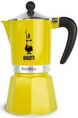 Кофеварка гейзерная Bialetti Rainbow 3 порции алюминий 4982