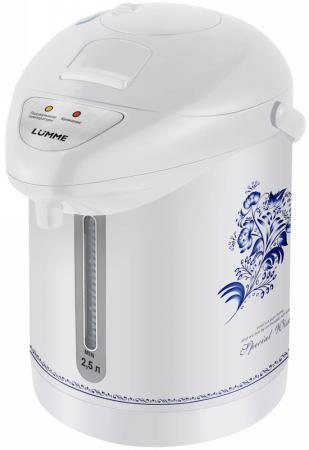 Термопот Lumme LU-3831 750 Вт белый рисунок 2.5 л металл/пластик