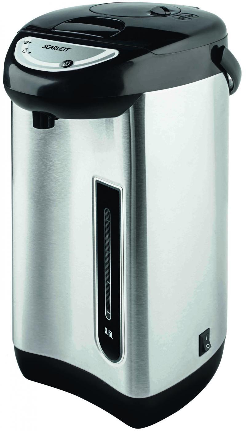 Термопот Scarlett SC-ET10D01 750 Вт 3.5 л нержавеющая сталь чёрный