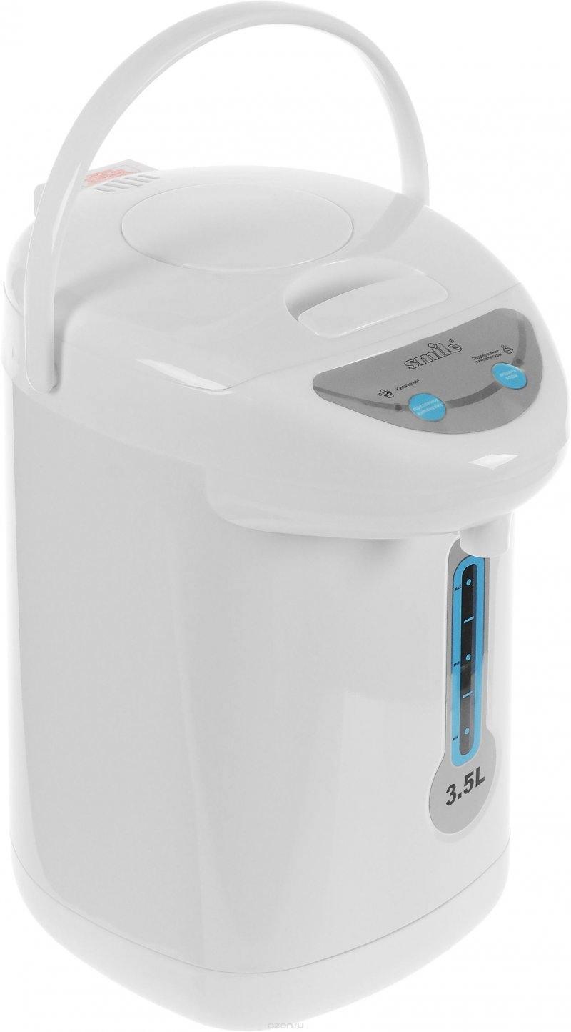 Термопот SMILE TP 1074, 800Вт, 3.5л, белый