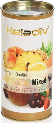 Чай черный HELADIV HD MIXED FRUIT 100 GR ROUND P.T.