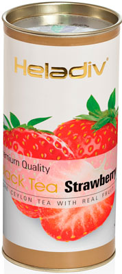 Чай черный HELADIV HD STRAWBERRY 100 GR ROUND P.T.