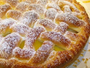 быстрый и вкусный пирог с лимоном и апельсином