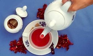 Красный чай каркаде для похудения