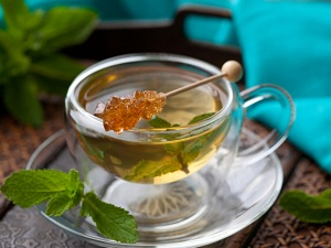 травяные чая мятный