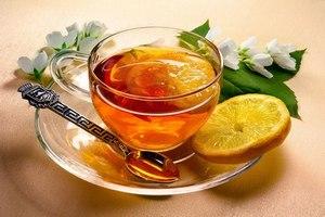Лимонный имбирный чай