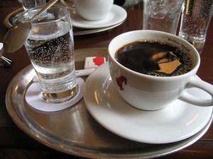 Подаем кофе американо правильно