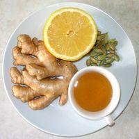 Чай с мятой и имбирем