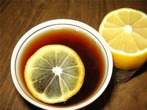 Черный чай с цитрусом