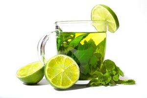 Зелёный чай с цитрусом