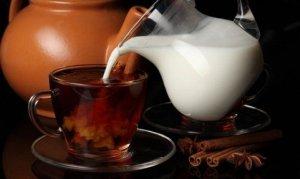 Количество калорий в чае с молоком