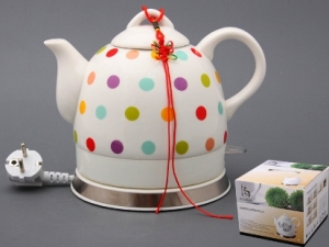 Какие недостатки чайников из керамики