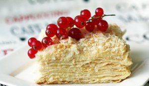 Рецепты тортов наполеон